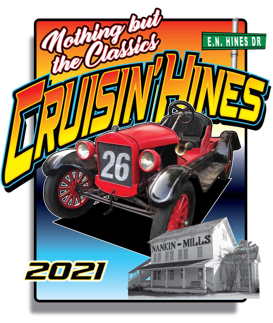 Official 2018 Cruisin' Hines Shirt